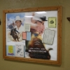 Lane Frost Memorial inside concession stand